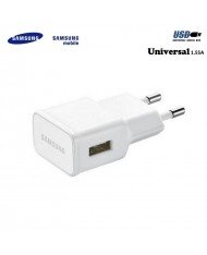 Samsung EP-TA50EWE Universal USB Plug 1.55A Fast Charger for Phone and Tab White (OEM)