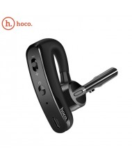 Hoco E15 Rede Business Twist Comfort Bluetooth 4.1 Multipoint Headset with Control Button Ear Clip Black