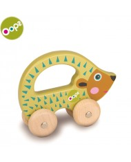 Oops Pic Wooden Hand Running Toy for kids from 9m+ (17x6.5x19cm) Colorful 17008.24