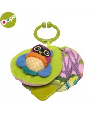 Oops Owl Soft Book for kids from 6m+ (28x7.5x12cm) Colorful 11012.12