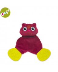 Oops Cat Comforter Teething Toy for kids from 0m+ (21x5x12cm) Pink 10008.21