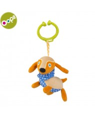 Oops Dog Pendant Vibrating Toy for kids from 3m+ (36x8x12cm) Colorful 11014.22