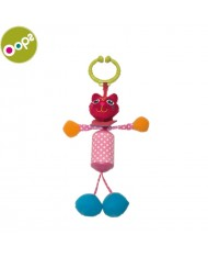 Oops Cat Rattle Toy for kids from 0m+ (38x4x12cm) Colorful 18002.21