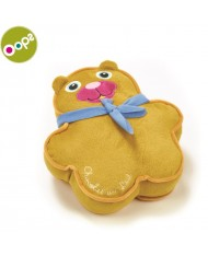 Oops Bear Happy Cushion Pillow for kids from 0m+ (25x8x24cm) Colorful 10001.11