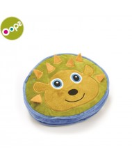 Oops Hedgehog Happy Cushion Pillow for kids from 0m+ (25x8x24cm) Colorful 10001.24