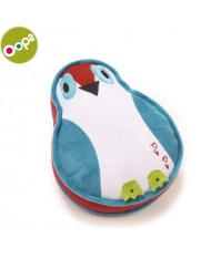 Oops Bird Happy Cushion Pillow for kids from 0m+ (25x8x24cm) Colorful 10001.32