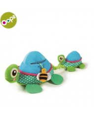 Oops Turtle Multi-activity Toy for kids from 3m+ with vibrating pull tail / squeaker and teethers Colorful 11006.00