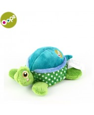 Oops Turtle Moving and Vibrating Soft Toy for kids from 0m+ (14x14x7cm) Colorful 13001.23
