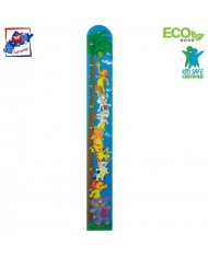 Woody 90097 Educational Height chart for kids 3y+ Jungle (12x100cm)