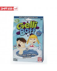 Zimpli Kids Gelli Baff Lagoon Blue Colour powder Gell Liquid creator for kids from 3y+ (Package 300g)