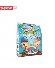 Zimpli Kids Gelli Snow Radiant Rainbow Colour powder Gell Liquid creator for kids from 3y+ (Package 80g)