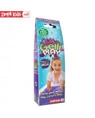 Zimpli Kids Gelli Play Glitter Purple Colour powder Gell Liquid creator for kids from 3y+ (Package 50g)