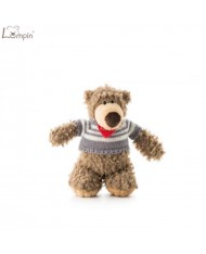 Lumpin 94010 Soft toy Denis bear for kids 0+ years (small size 30cm)