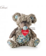 Lumpin 94015 Soft toy Richie mouse for kids 0+ years (small size 32cm)