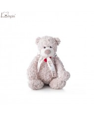 Lumpin 94018 Soft toy Spencer bear with ribbon for kids 0+ years (medium size 38cm)