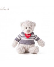 Lumpin 94019 Soft toy Spencer bear for kids 0+ years (small size 34cm)