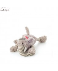 Lumpin 94032 Soft toy Lying Elvis elephant for kids 0+ years (34cm)