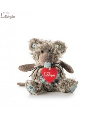 Lumpin 94040 Soft toy Richie mouse for kids 0+ years (mini size 25cm)