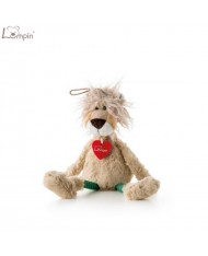Lumpin 94042 Soft toy Lion DeLeon for kids 0+ years (small size 32cm)