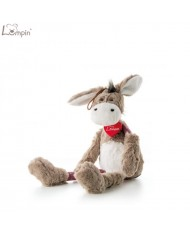 Lumpin 94044 Soft toy Donkey Simon for kids 0+ years (small size 45cm)