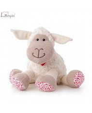 Lumpin 94091 Soft toy Olivia Blossom sheep for kids 0+ years (medium size 25cm)