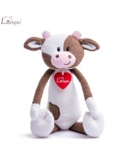 Lumpin 94121 Soft toy Rosie cow for kids 0+ years (medium size 33cm)