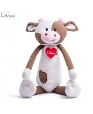 Lumpin 94122 Soft toy Rosie cow for kids 0+ years (large size 39cm)