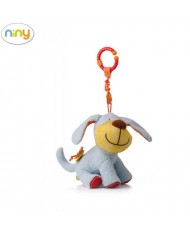 Niny 700002 Soft pendant toy - Cute dog for kids 0+ years (22cm)