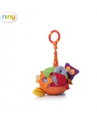 Niny 700004 Soft pendant toy - Educational Activity Ball for kids 0+ years (Diam. 13cm)