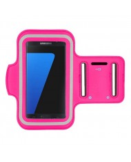 Telone Universal (15x8cm) Armband Pouch Case for Sport - Fitness Running Pink