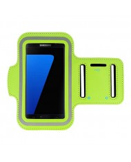 Telone Universal (15x8cm) Armband Pouch Case for Sport - Fitness Running Lime