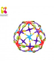 KeyCraft SC79 Resizing Ball (Expanded till 15cm) for kids 3+ years Colorful