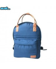 MUST Prestige series Universal Backpack with 2 kinds of strap & 2 zipped compartments (40x30x12cm) Blue