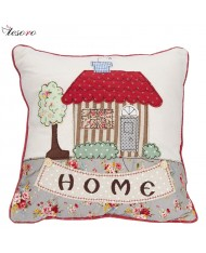 TESORO Home decoration Soft Cushion (30x30cm) Home design