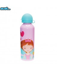 MUST BPA Free Metall bottle with Bright picture (500ml) for girls 3+ years Girl
