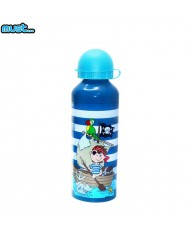 MUST BPA Free Metall bottle with Bright picture (500ml) for boys 3+ years Striped