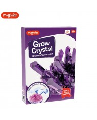 Magnoidz Creative Crystal Growing Kit for kids 8+ years Violet