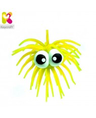 KeyCraft NV61TN Rubber Anti stress Funny Googly Eyes for kids 3+ years Yellow