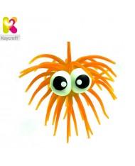 KeyCraft NV61TN Rubber Anti stress Funny Googly Eyes for kids 3+ years Orange