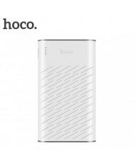 Hoco B31A Mega Size 30000mAh Ultra High Capacity Power Bank Charger 5V Dual USB 2.1A Max White