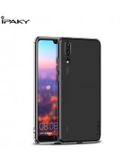iPaky Effort series 2in1 TPU back cover case + 9H Tempered glass for Huawei P20 Transparent