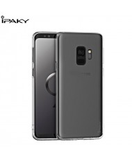iPaky Effort series 2in1 TPU back cover case + 9H Tempered glass for Samsung Galaxy S8+ (G955) Transparent