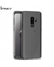 iPaky Effort series 2in1 TPU back cover case + 9H Tempered glass for Samsung Galaxy S9+ (G965) Transparent