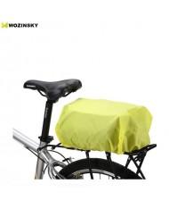 Wozinsky Universal Waterproof Rain Cover for Bike Bags or Backpacks Green