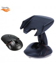 TakeMe Universal Multifunctional Mouse Type One Touch Car Holder for Mobile Phones (5-9cm) Black