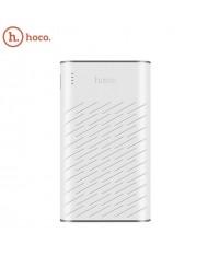 Hoco B31 Mega Size 20000mAh Ultra High Capacity Power Bank Charger 5V Dual USB 2.1A Max White