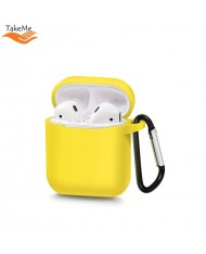 TakeMe Ultra-thin Soft Silicone protective case for AirPods Yellow
