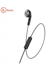 Hoco M61 Single Ear line control Earphone with Microphone 3.5mm 1.2m Cable Black