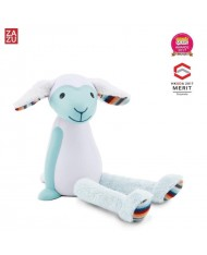 Zazu Fin Smart Lamb - Lamp and nightlight with auto OFF function (after 60 min) for kids 0+ Blue