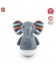 Zazu Elli Smart Elephant - Anti-fall Colourful Night Lamp with auto OFF function (after 30 min) for kids 0+